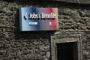 Increase in local unemployment