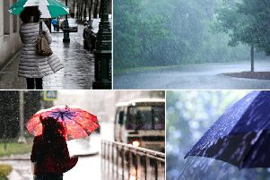 Heavy rain causing difficult driving conditions for commuters