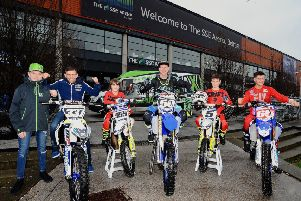 Local riders all set for Arenacross in SSE Arena, Drew McCreanor, Glenn McCormick, Robbie McCullough, Martin barr, Cole McCullough and James Mackrel