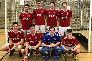 Cookstown men won the Ulster Indoor Championships
