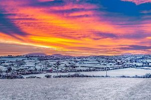 Kenny Gibson took this stunning photo in Dromore on Wednesday morning.