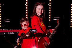 The Rock Red Friday campaign was launched by brother and sister, Niall Parfitt (4) and �abha (7) and is asking  everyone to wear red tomorrow (Friday, February 15) for charity.