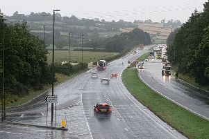 A number of proposals are being put forward for consultation as part of the proposed �67 million A1 roads scheme.  Picture: Press Eye.