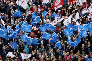 Leinster and Ulster fans