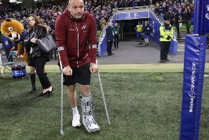 Injury Ulster captain Rory Best