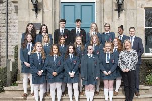 The Banbridge Academy bar mock trial team who were national runners-up 2019.