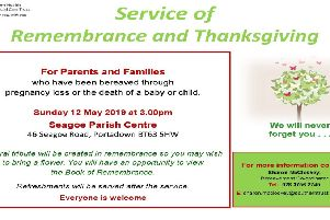 Service for babies and children who have died