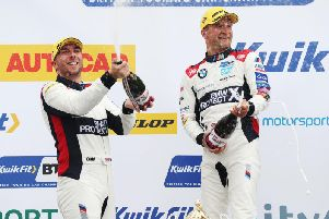 Colin Turkington is looking to maintain an excellent start to the season at Thruxton this weekend.