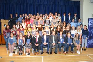 Dromore High School Year 14 leavers