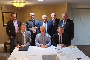 Members and guests pictured at the 30th Annual General Meeting of Banbridge District Enterprises Ltd