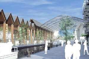 The proposed Castle Quay extension