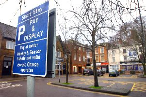 The debate over free parking in Banbury town centre continues