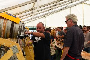 There will be plenty of beer at the Hook Norton Festival of Fine Ales. Picture by Claire Mortimer NNL-150720-155057001
