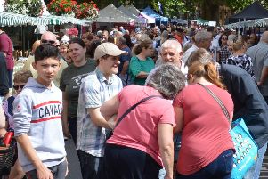 Thousands of people came to the 2018 Food Fair in Banbury NNL-180820-131534001