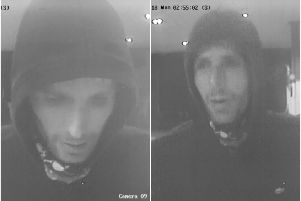 Police would like to speak with this man, do you recognise him?