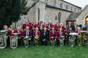 The Brackley and District Band join world renowned euphonium soloist Steven Mead at the Ugland Auditorium at Stowe School this weekend