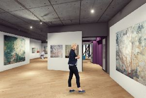 Artist's impression of the PYE Gallery, Banbury museum NNL-181022-155004001