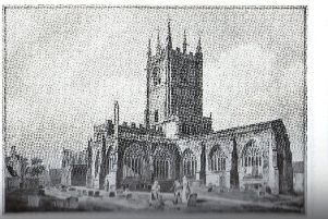 South East view of the old St Mary's Church, supposed site of the Earl of Pembroke's execution