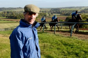 Edgcote trainer Alex Hales will be triple-handed at Warwick