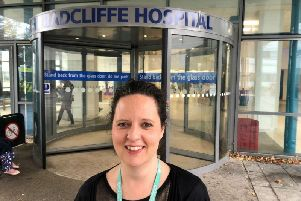 Oxfordshire County Council area service manager for hospitals Victoria Baran. Photo courtesy of the council