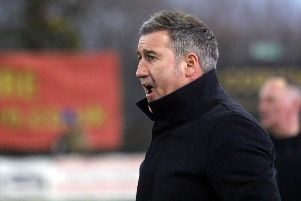 Banbury United manager Mike Ford was relieved to get through cup tie