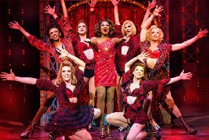 The worldwide hit musical Kinky Boots takes to the stage in Oxford next week