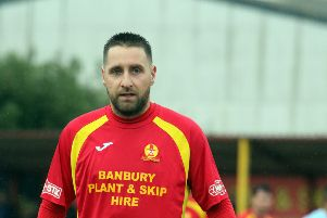 Banbury United striker Steve Diggin has rejoined Corby Town