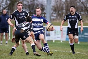 Dan Brady bagged a brace of tries for Banbury Bulls against Bicester in Friday's semi-final