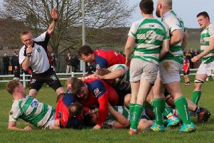 Skipper Ian Isham scores for Banbury Bulls at Salisbury. Photo: Simon Grieve
