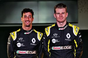 Daniel Ricciardo and Nico Hulkenberg had a frustrating end to their races in the Bahrain Grand Prix for the 'Renault Sport F1 Team