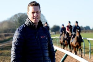 Charlie Longsdon was delighted to see Old Jeroboam win at Wetherby