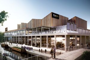 Castle Quay Cinema will be built where the existing carpark sits