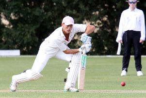 Banbury captain Lloyd Sabin led the way with an unbeaten 74 runs to see his side to victory at Slough