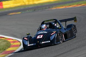 Dominik Jackson on his way to winning at Spa-Francorchamps. Photo: Oliver Read