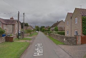 The attack was in the woman's house on Hethe Road, Hardwick. Photo: Google