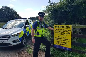 Police continue their investigation into sheep butchery and theft