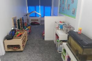 One of the new playrooms at Banbury School Day Nursery, which is marking its 30th birthday in September. NNL-190309-104210001