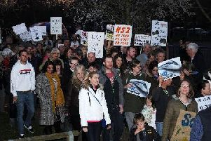Protesters in Banburyshire have been campaigning to get HS2 scrapped for years