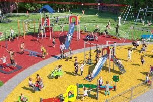 Howard Road play area, in Banbury, will be refurbished in September and October. NNL-190309-153907001
