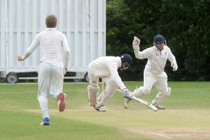 Ampthill claim a wicket against Luton Town & Indians on Sunday