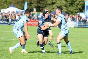 Bedford Blues were beaten on Saturday