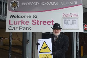 Mayor Dave Hodgson at Luke Street car park