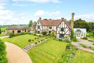 Grand manor home was once a hunting lodge used by Henry VIII