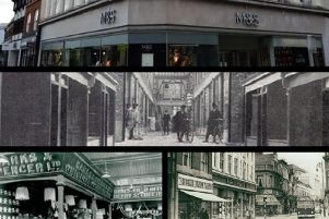 See M&S Bedford over its 120-year history in the town