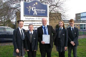 Goldington Academy Artsmark Award