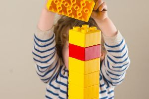 Building bricks help with learning