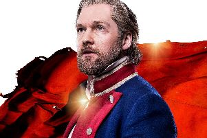Killian Donnelly stars as Jean Valjean