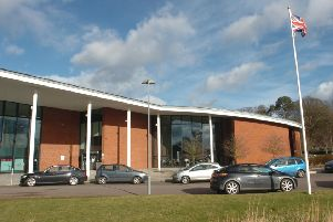 Central Beds Council's offices in Chicksands