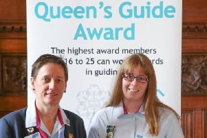 Bedford's Anna Rust awarded the highest accolade in Girlguiding