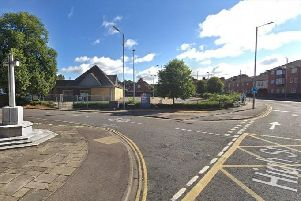 One of the development sites is opposite the war memorial in Kempston